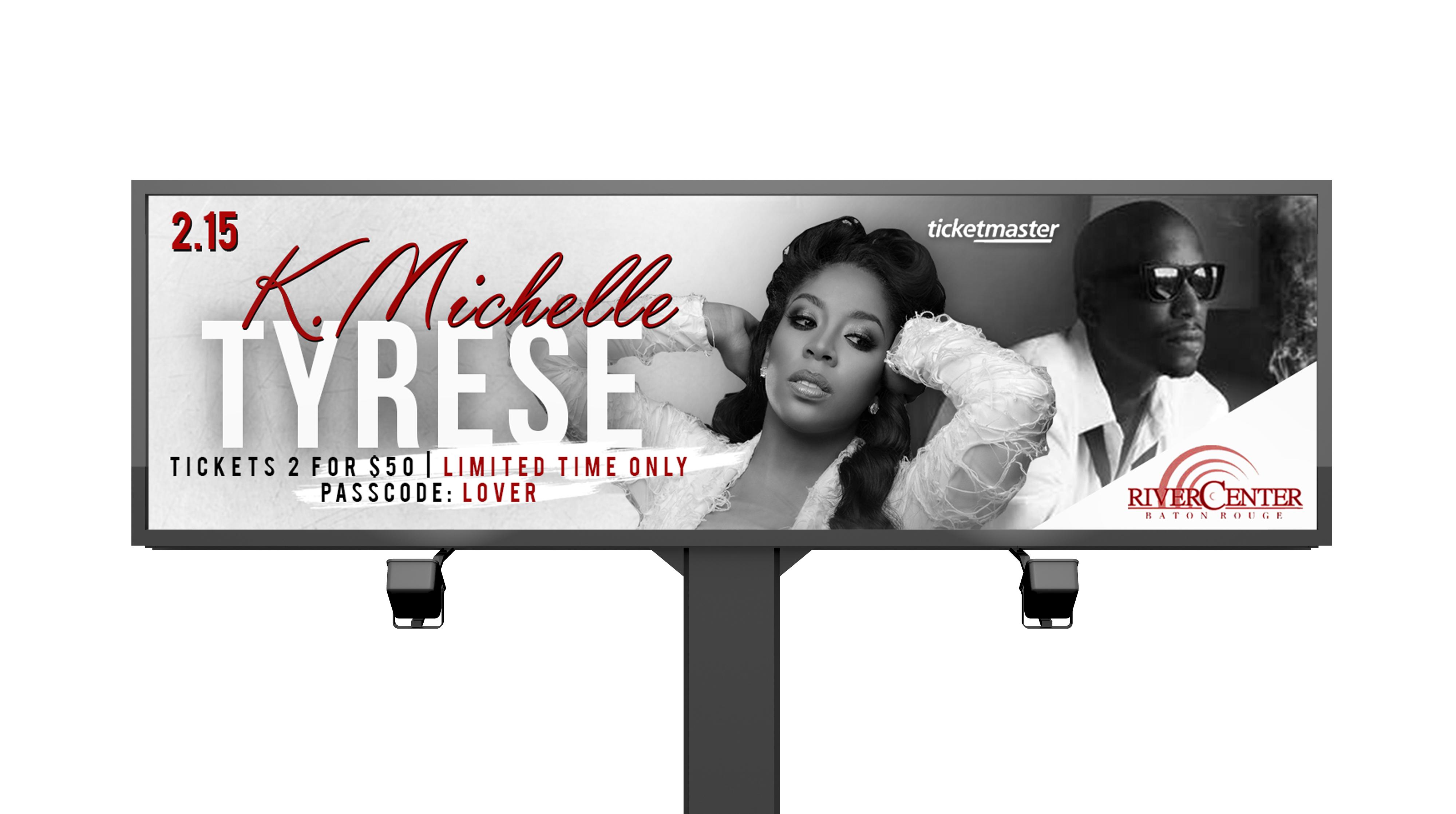 Tyrese + K. Michelle