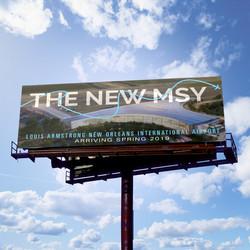 New Orleans Airport Billboard