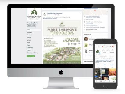 Ardendale Oaks Website