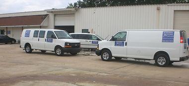 Runner's Courier Service Vans