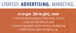 Strategy. Advertising. Marketing.