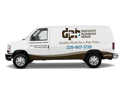 discount plumbing repair van