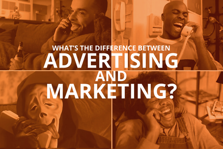 What's the Difference Between Advertising and Marketing?