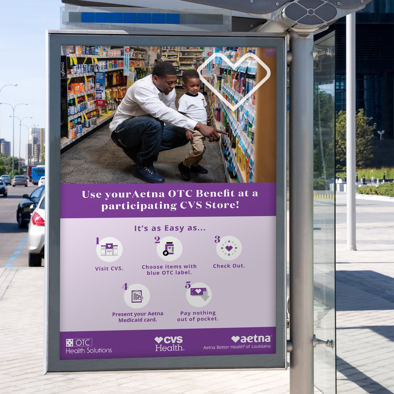 Aetna Bus Shelter