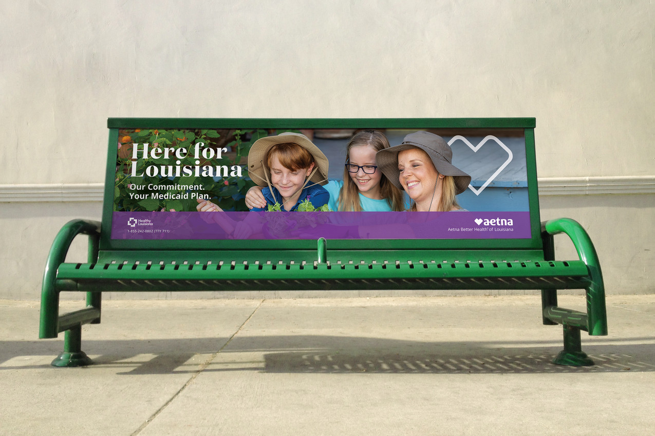 Aetna Bus Bench