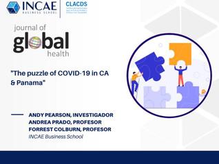 Profesora Andrea Prado publicó un artículo en el Journal of Global Health