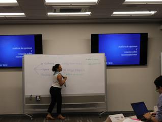 Profesora Prado impartió sesión acerca de metodología de casos vivos