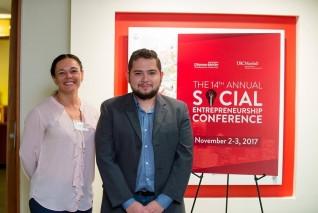 Profesora de INCAE presentó estudio en la 14ta Conferencia Anual de Emprendimiento Social
