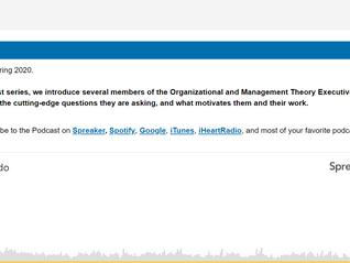 Profesora Prado participó el podcast de Academy of Management