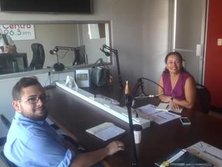Profesora Prado participó en programa radial acerca del impacto social y ambiental del sector privad