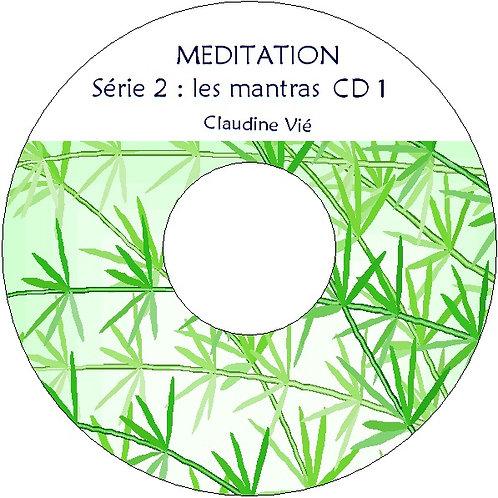 3 CD : les mantras