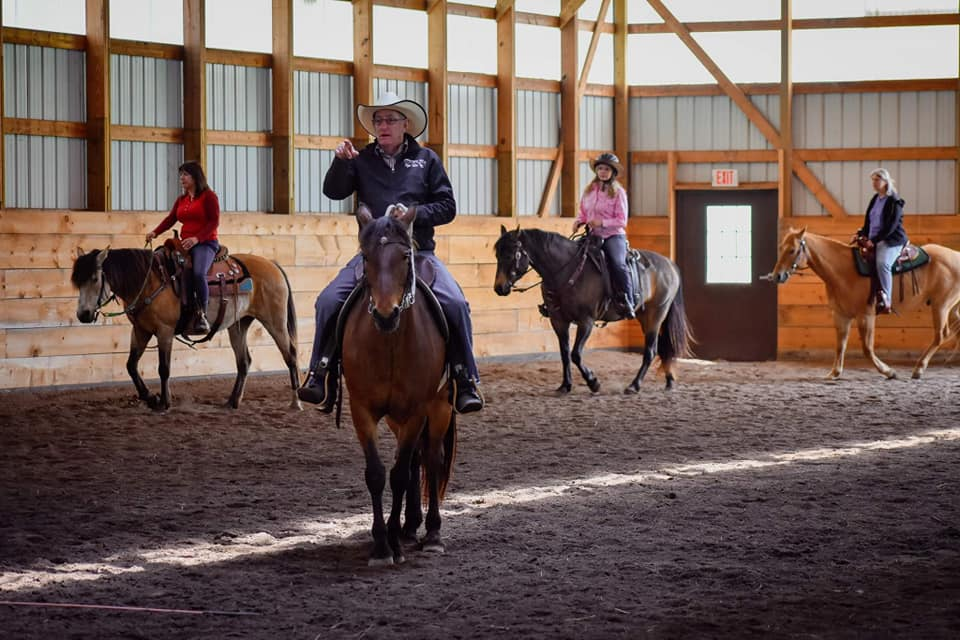 TJ Clibborn is considered one of the best horse trainers in the Midwest.