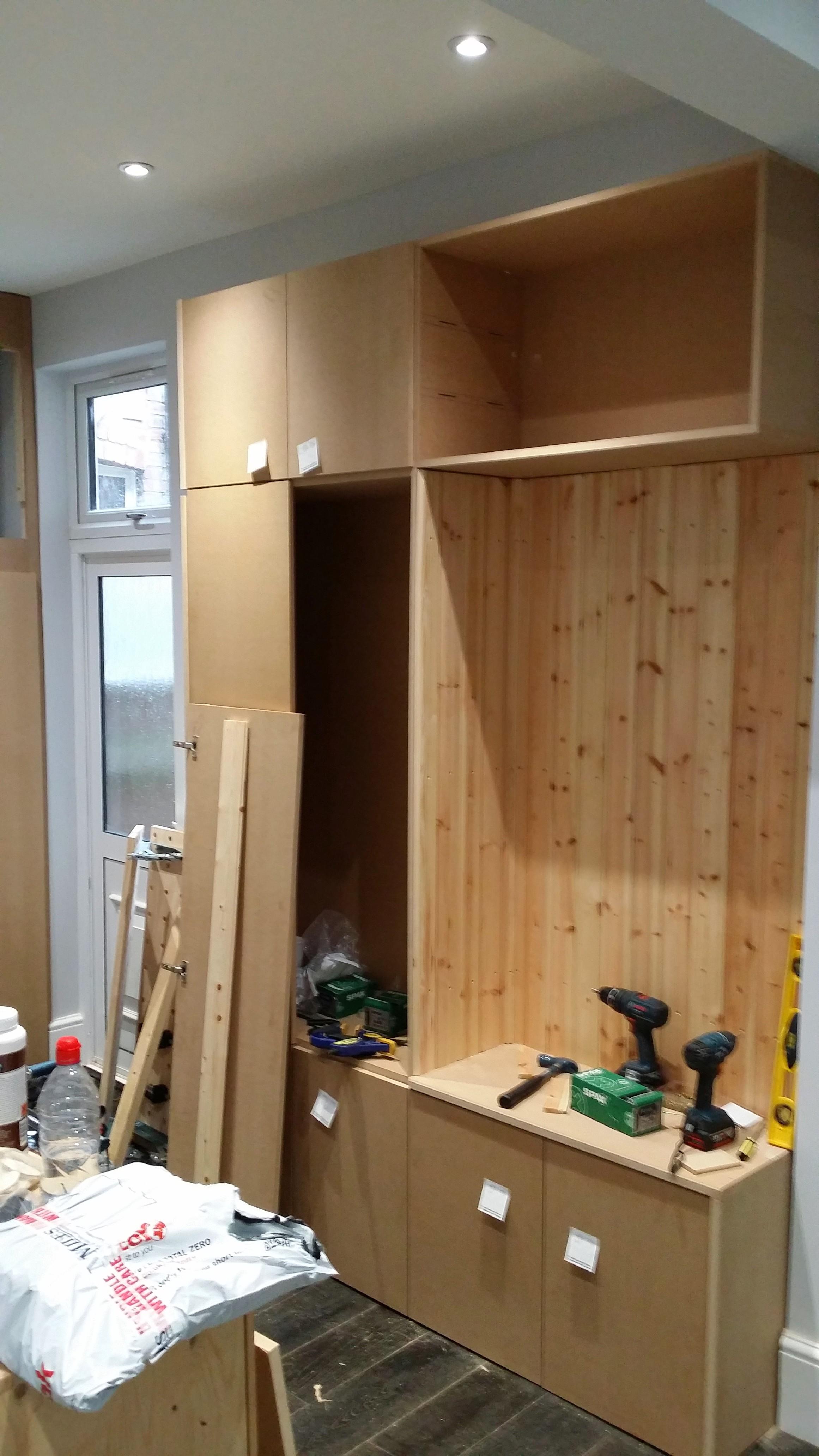 Bespoke Bootroom Storage Cabinet