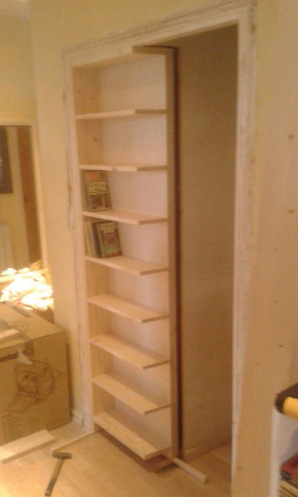 Bespoke Bookshelf Door