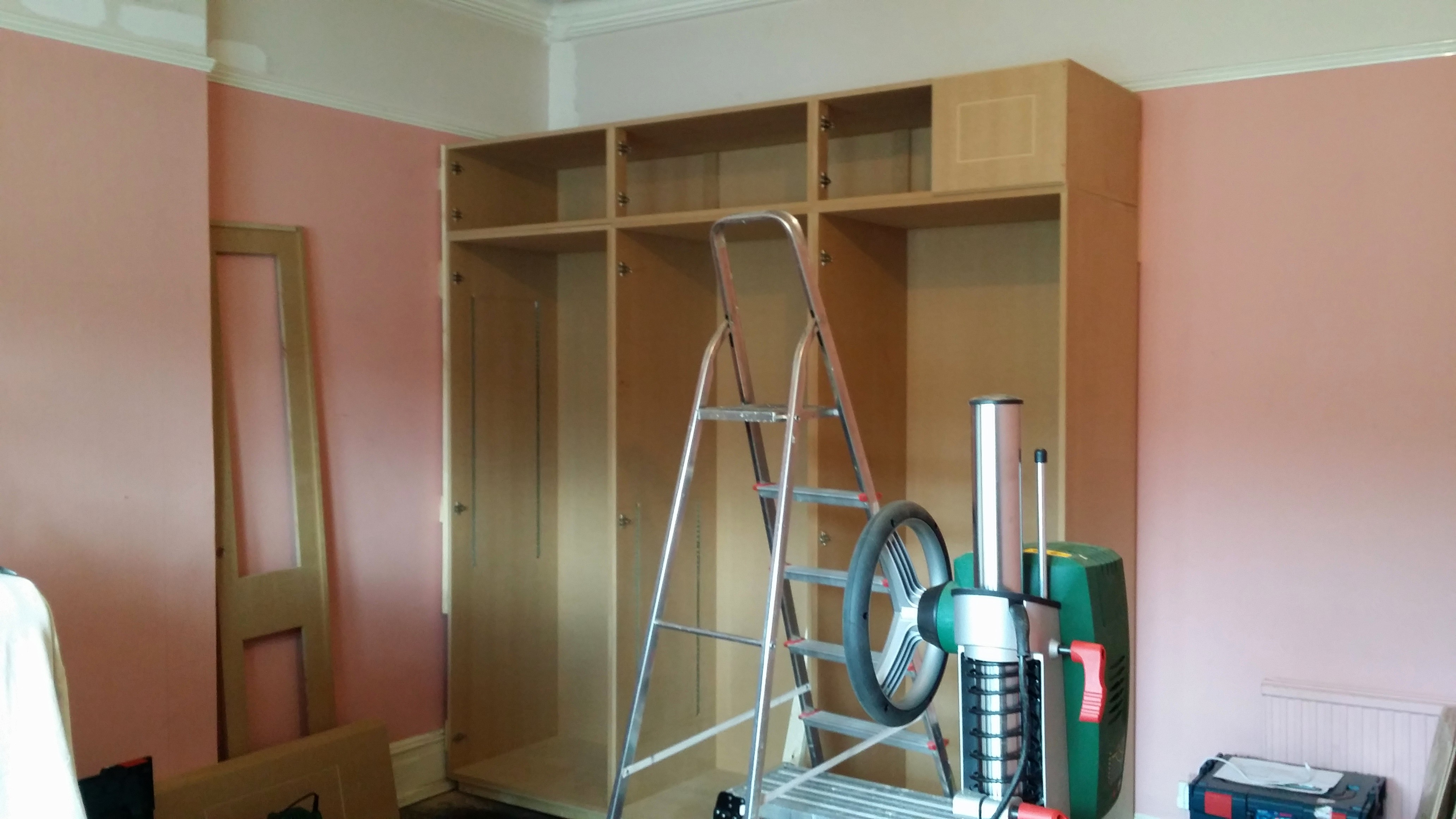 Bespoke Joinery Fitted Wardrobe Cupboard