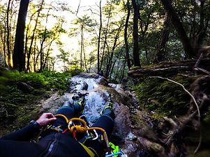 canyoning sierra gorda ecotours adventure
