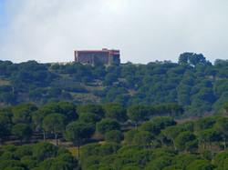 Vista lateral del monasterio