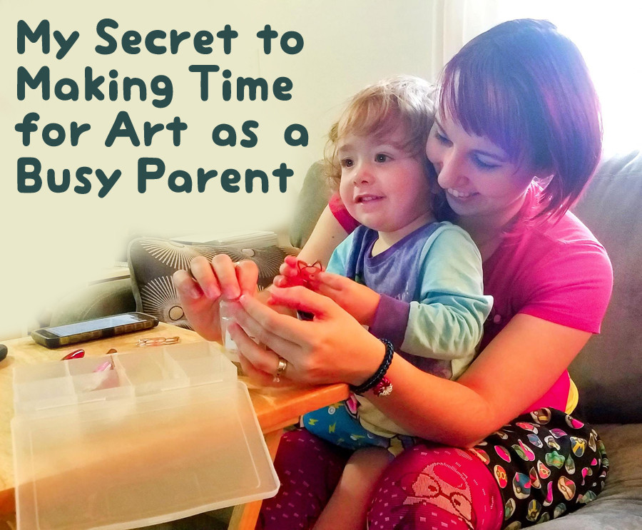 My Secret to Making Time for Art as a Busy Parent