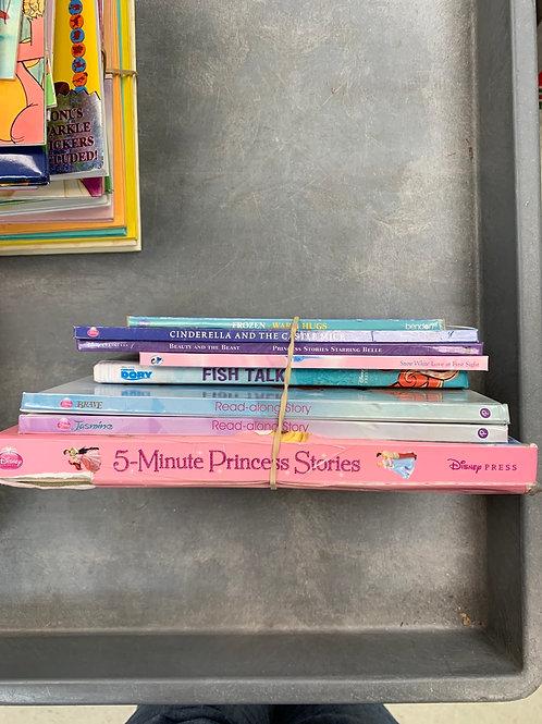 Disney Princess Stories- Read Alongs, Cinderella, Jasmine, Brave, Snow Whire