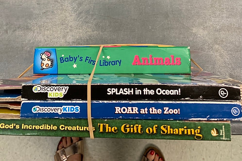 Discovery Kids books, animals, Gift of Sharing