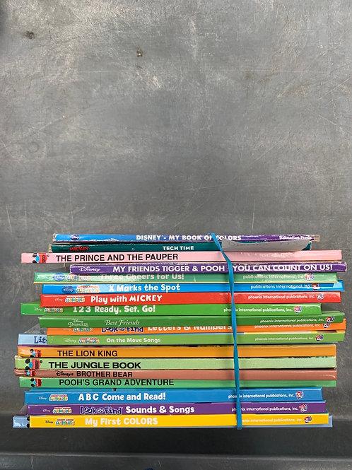 Disney- Huge Hardcover Variety