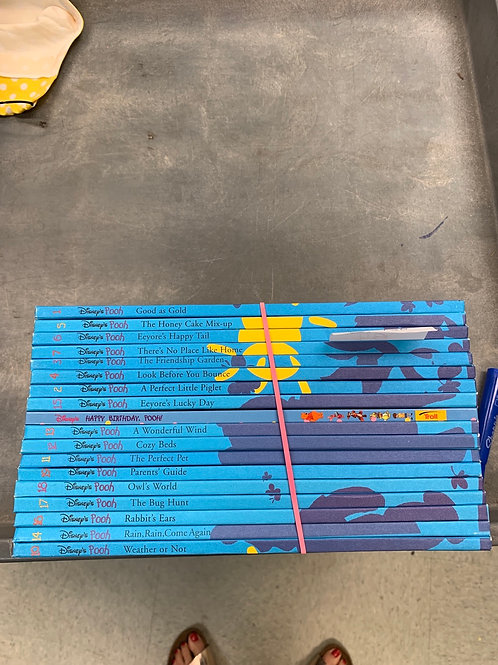 Disney- Huge hardcover Pooh collection
