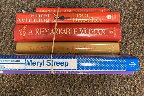 Famous Actresses- Meryl Streep, Katherine Hepburn, Elizabeth Taylor