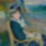 Portrait by Renoir