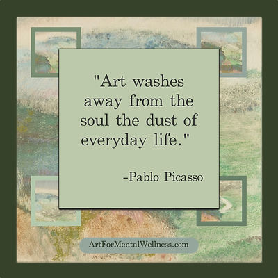 Pablo Picasso quote about art