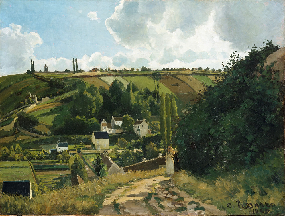 Nineteenth century French landscape