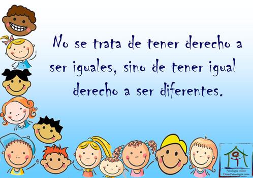 Somos diferentes!