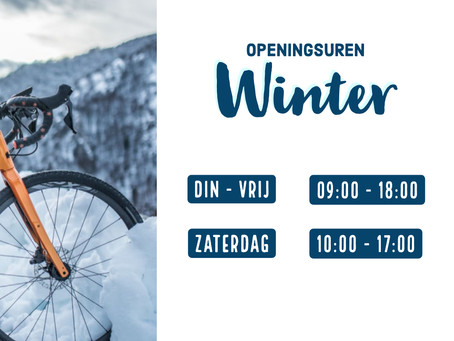 WINTER OPENINGSUREN