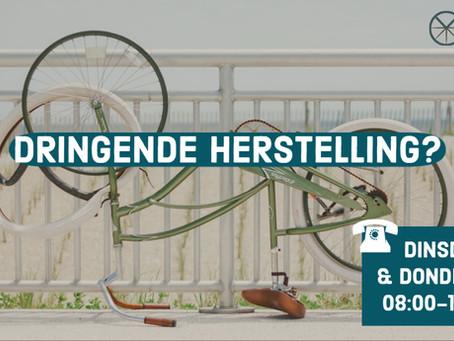 DRINGENDE HERSTELLING?