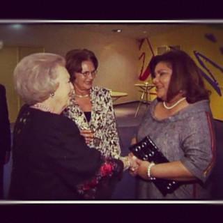 Meeting the Queen!
