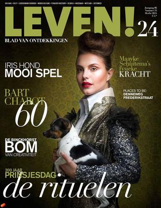 Cover issue 24 Leven Magazine