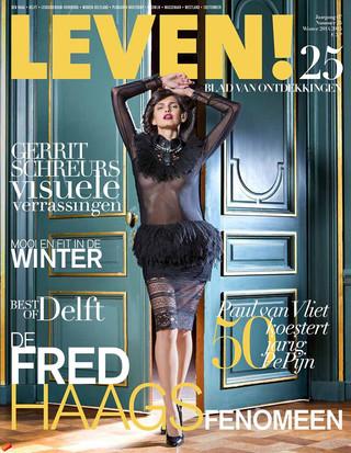 Cover issue 25 Leven Magazine