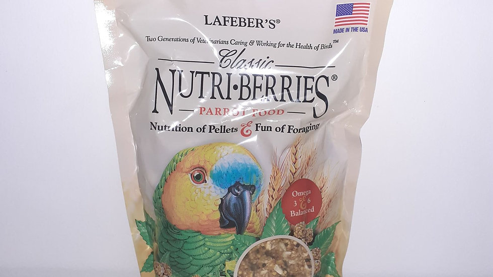 Lafeber Nutri-Berries Classic Perroquet