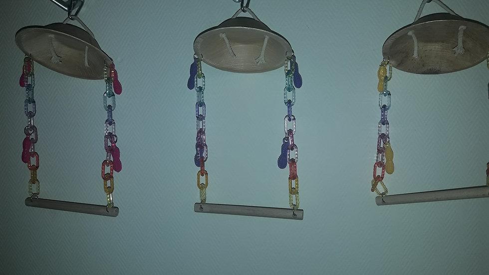 Capitaine Crochu | Balancoire - perchoir - perruche perroquet accessoires