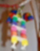 Jouet petit perroquet -  Lorique - Capitain Crochu