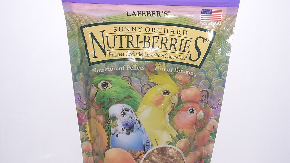 Lafeber Nutri-Berries Sunny Orchard Perruche