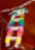 Jouet pour perruche - Capitaine Crochu - jouet oieau
