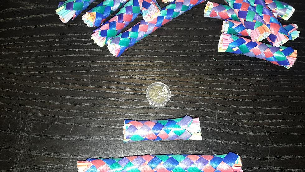Capitaine Crochu | Bambou tréssé | jouet de patte | jouet a macher perroquet perruche