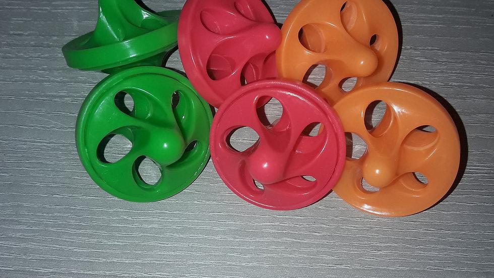 Capitaine Crochu | piece de jouet perruche perroquet | toupie [ toupie plastique