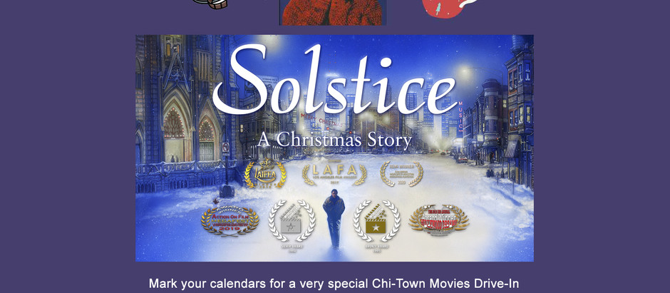 """""""Solstice"""" to Double Feature with """"Home Alone"""" December 20th at Chitown Movies Drive-in!"""