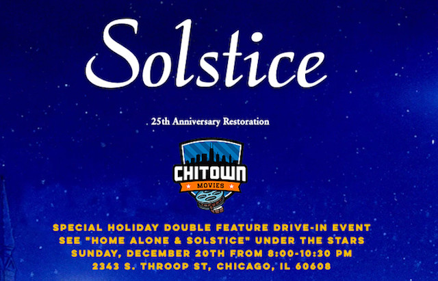 Podtalk w/Patrick McDonald of Hollywood Chicago on the December 20th Drive-In Screening of Solstice!