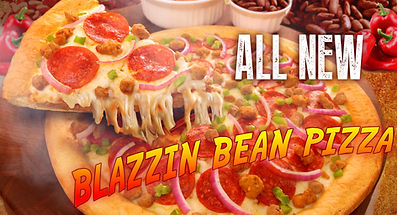 All new Blazzin Pizza Pizza