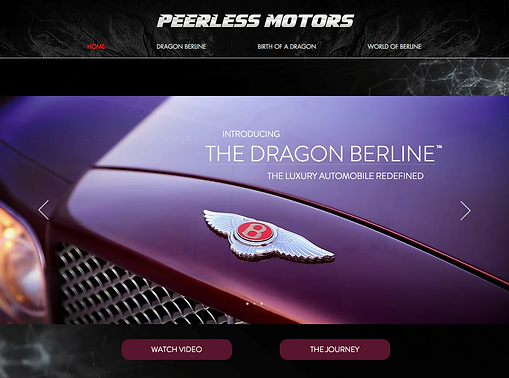 Peerless Motors Drago Berline