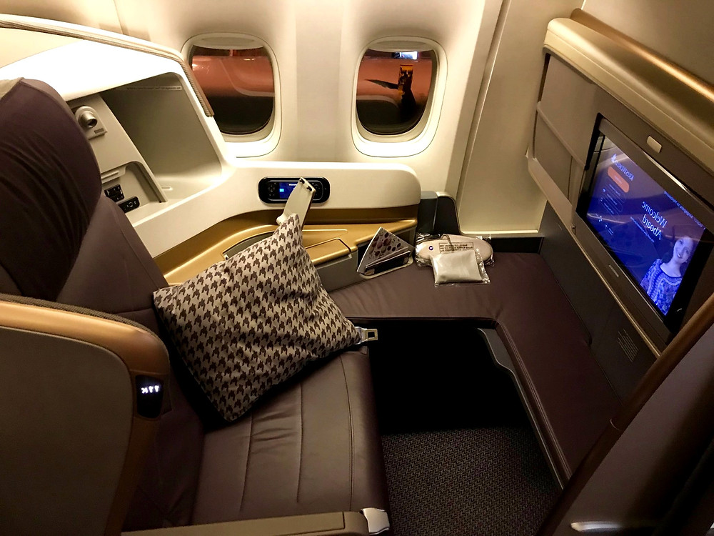 #singaporeairlines #businessclass