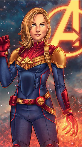 Captain-Marvel-Animated-iPhone-X-Wallpap