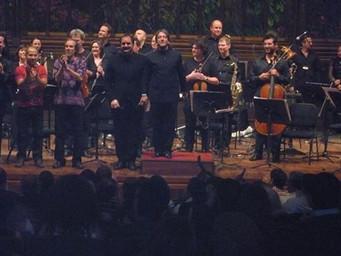 Enrico Chapela estrenó Albaktún en el Palacio de Bellas Artes con la Sinfónica de Dresde
